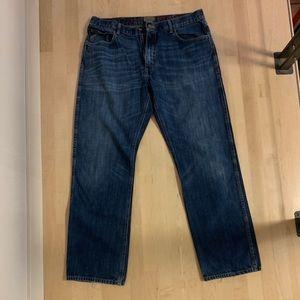 Ariat men's M3Athletic jeans. 38/34